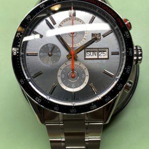タグホイヤーカレラのオーバーホールは新潟万代ブローチ時計修理工房
