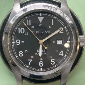 ハミルトン オーバーオール、分解掃除は新潟市ブローチ時計修理工房におまかせください!