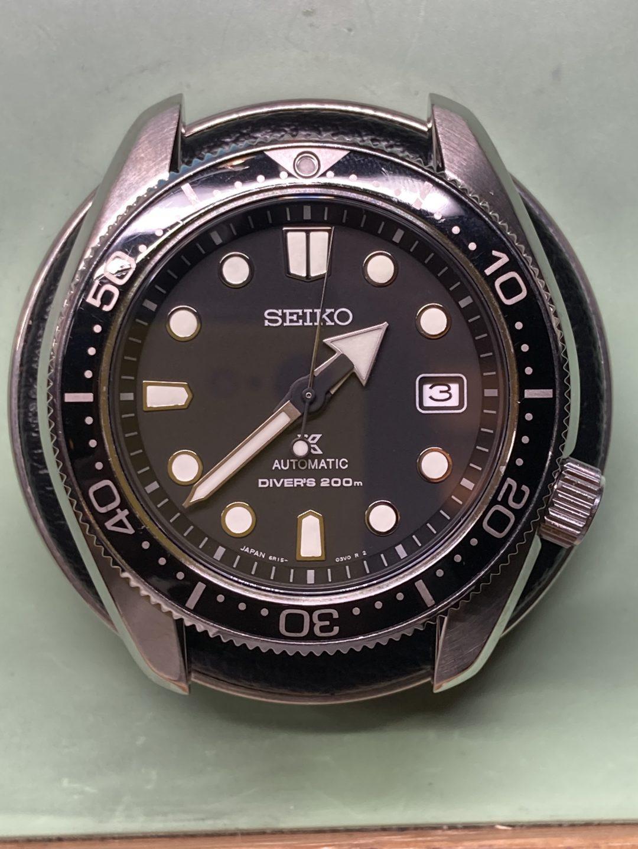 SEIKO オーバーホール 分解掃除は新潟市ブローチ時計修理工房におまかせください!