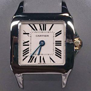 カルティエ サントスの時計修理は新潟市ブローチ時計修理工房へ!