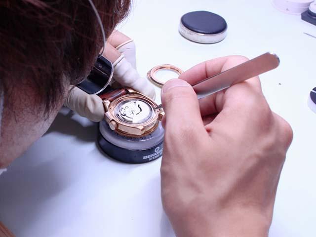 時計修理のお見積り